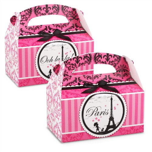 Paris Damask Empty Favor Boxes (4)