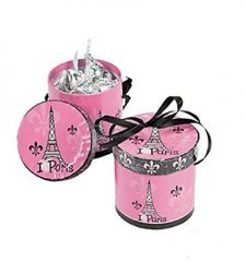 Perfectly Paris Hat Treat Boxes (Set of 8)