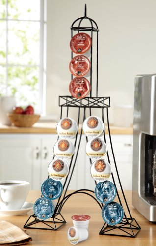 Cafe De Paris Create A Little Of The Bustling Paris France Cafe In Your Kitchen With An Eiffel Tower Rack Equipped To Hold Individual Coffee Machine