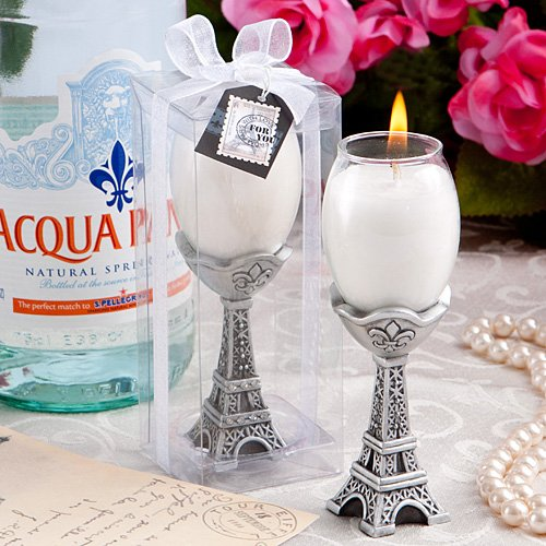 Bougeoir Tour Eiffel If You Are Looking For Creative Ideas To Dress Your Wedding Reception Tables In A Paris Theme Might Like This Cleverly Designed