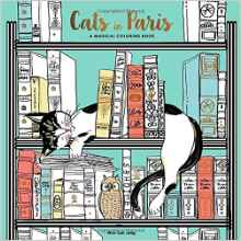 Paris Themed Coloring Book