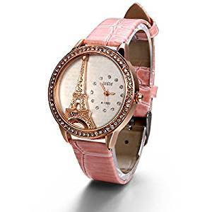 Eiffel Tower Girls Watch