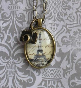 Vintage Eiffel Tower Jewelry