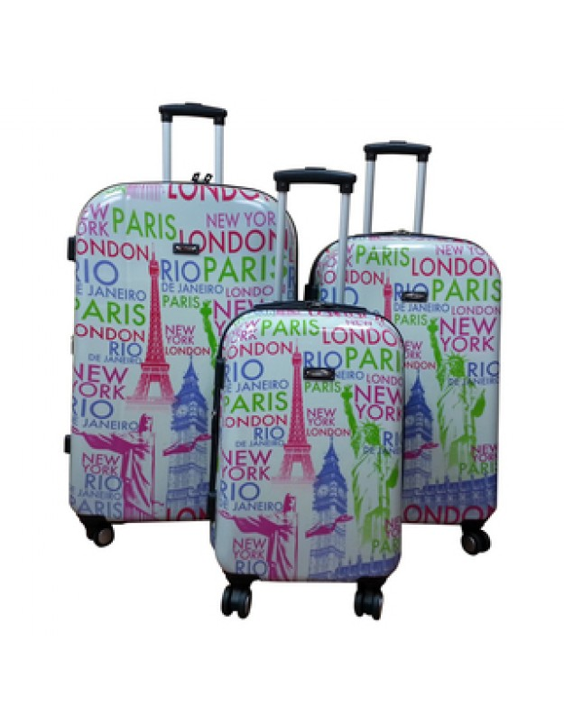 Paris, London, Luggage