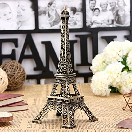 Eiffel tower statue gift for kids