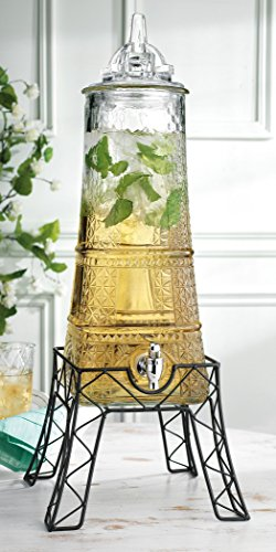 Awesome Eiffel Tower Beverage Dispenser
