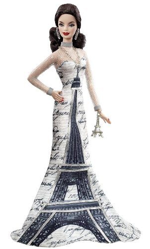 Collectible Eiffel Tower Barbie Doll