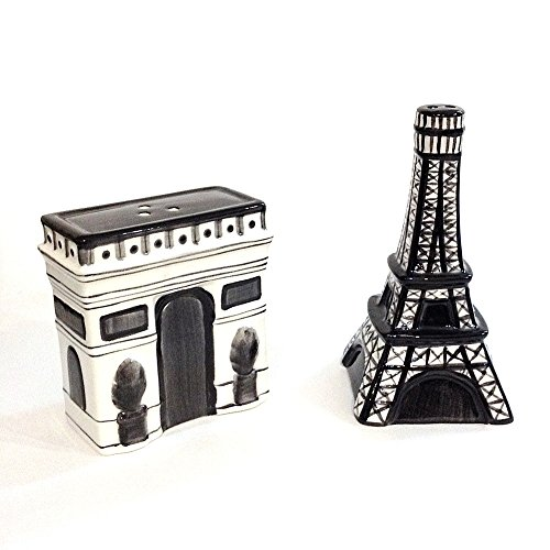 Quality Paris Monuments Salt & Pepper Set
